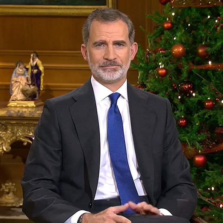 El Rey en su Mensaje de Navidad: 'Con esfuerzo, unión y solidaridad, España saldrá adelante'