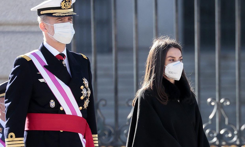 Los Reyes presiden una Pascua Militar marcada por la pandemia