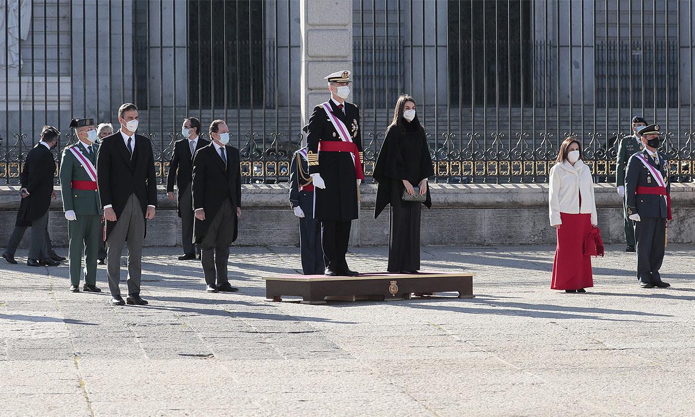 De las instrucciones de Letizia a la rapidez de los saludos: todos los detalles de una Pascua Militar atípica