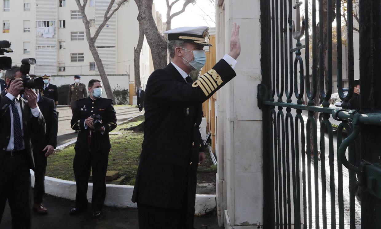 El rey Felipe retoma su agenda fuera de Zarzuela en Cádiz