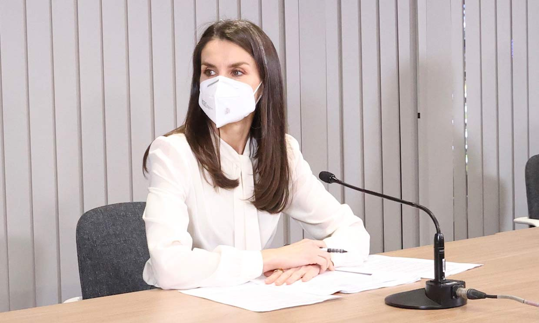 Doña Letizia pide reforzar la atención a los pacientes oncológicos: 'Es más urgente que nunca'
