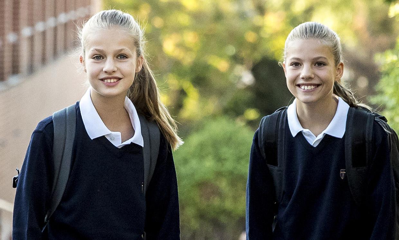 Leonor a Gales y Sofía en Madrid: las dos hermanas tomarán caminos distintos por primera vez