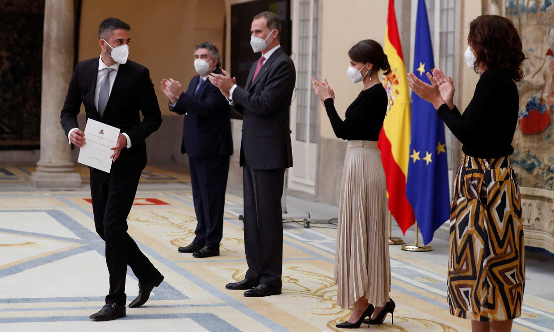Juan Carlos Navarro, Emilio Butragueño, Joana Pastrana... los Reyes premian a las estrellas del deporte