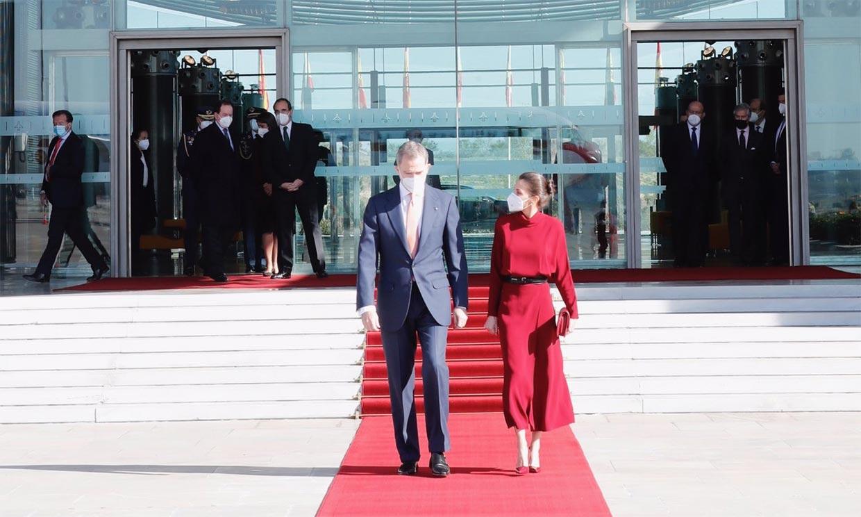 Los reyes Felipe y Letizia retoman su agenda internacional tras el inicio de la crisis sanitaria