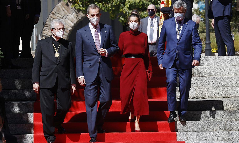 La calurosa bienvenida a los Reyes en el arranque de su viaje de Estado a Andorra