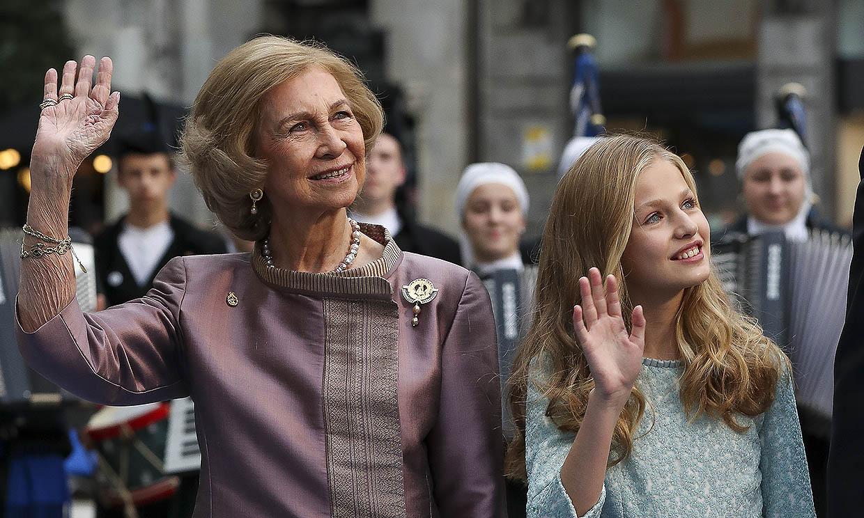 Esta es la importante cita de doña Sofía el día que la princesa Leonor recibirá la Confirmación