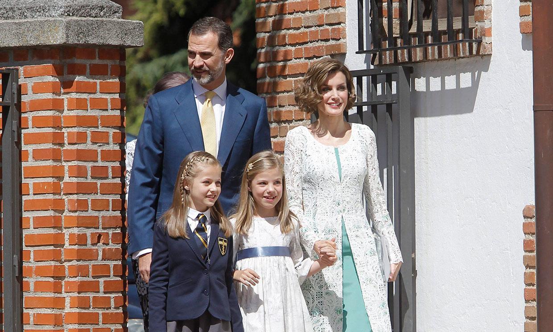La princesa Leonor recibirá la Confirmación en la misma iglesia donde hizo la Primera Comunión