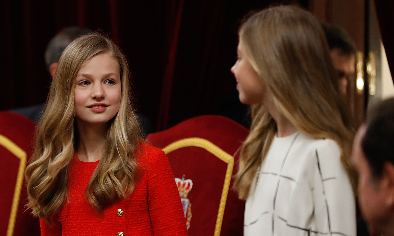 De su primer discurso público a los actos en solitario: la princesa Leonor pide paso