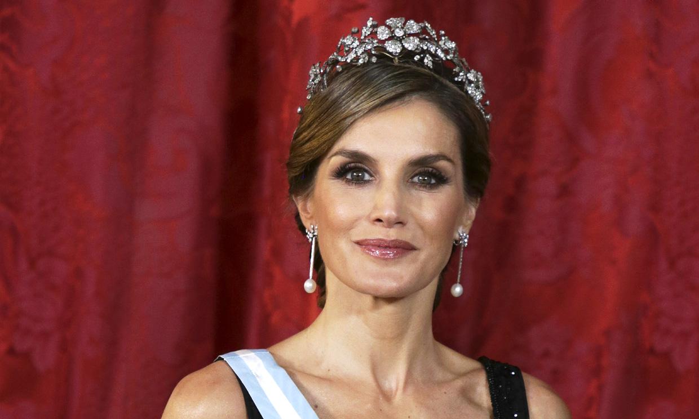 Vuelven las cenas de gala al Palacio Real: ¿qué tiara escogerá doña Letizia?