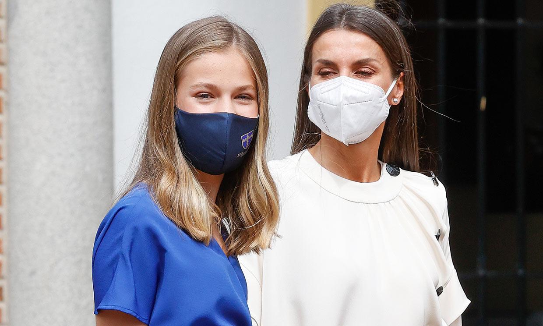 Doña Letizia y la princesa Leonor reciben la vacuna contra el coronavirus
