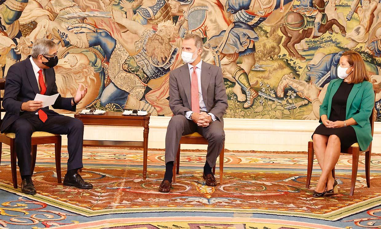 Don Felipe vuelve a su agenda en España tras asistir al funeral del expresidente de Portugal