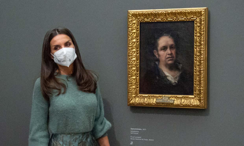 Doña Letizia viaja a Suiza como embajadora de Goya