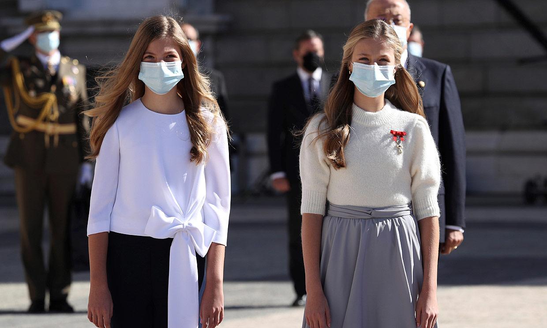 La infanta Sofía, por primera vez sin su hermana en un acto oficial
