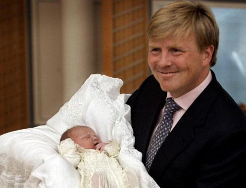 Máxima de Holanda da a luz a su segunda hija
