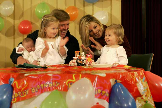 La princesa Alexia celebra su segundo cumpleaños en familia