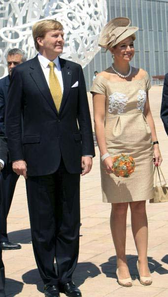 Guillermo y Máxima apuestan firme por la Expo de Zaragoza
