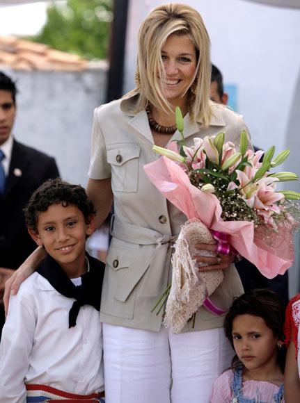 La princesa Máxima, en Paraguay