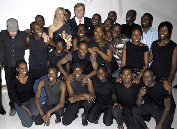 El 'Dulce amor' por África de los Príncipes de Orange