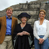 Los príncipes de Orange y la reina Beatriz, tres turistas en las espectaculares ruinas mexicanas de Teotihuacán