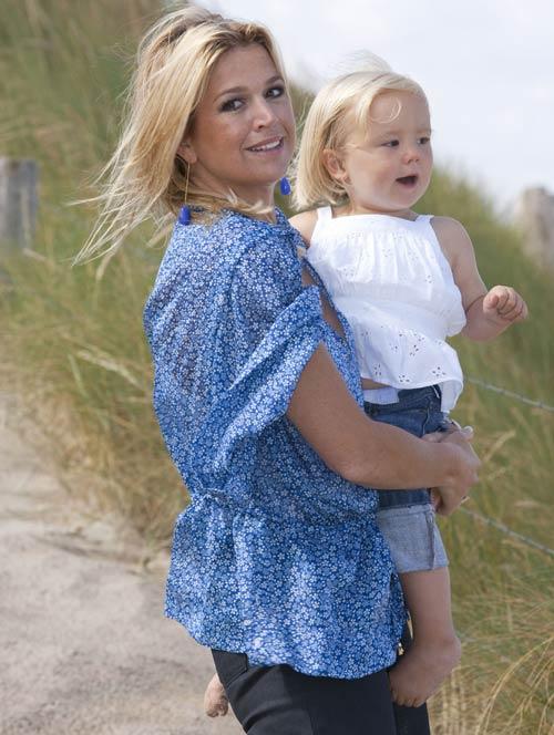 Máxima de Holanda contrata una niñera argentina para la princesa Ariane