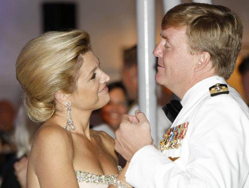 Guillermo y Máxima de Holanda, una pareja muy normal