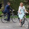 Guillermo y Máxima de Holanda: ciclistas por un día