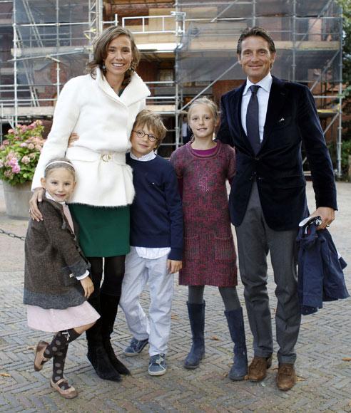 La Familia Real holandesa se reúne en el bautizo de la hija pequeña de Margarita de Borbón-Parma y Tjalling Ten Cate
