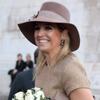 Sombreros, guantes, tonos tierra... Máxima de Holanda da la bienvenida al otoño