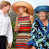 El colorido estilo de Máxima y la cercanía de la reina Beatriz, mientras continúan su visita oficial por el Caribe