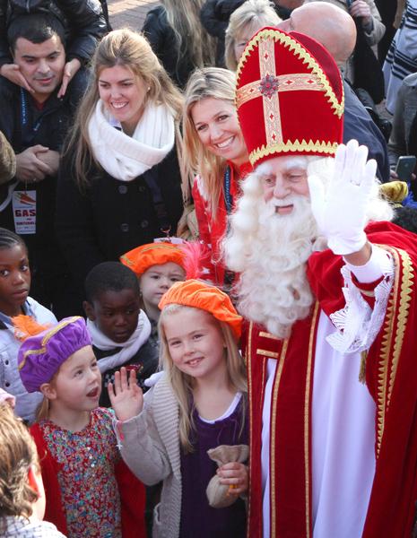 ¿Qué regalos le habrán pedido a San Nicolás las princesas Amalia, Alexia y Ariane de Holanda?
