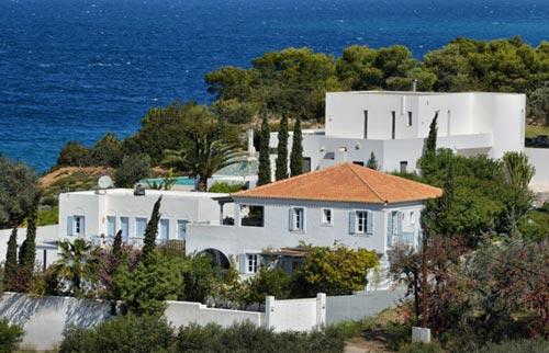 Así es la nueva casa de Guillermo y Máxima de Holanda en el sur de Grecia