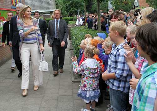 Máxima de Holanda, la princesa de los niños