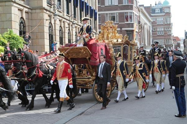Guillermo y Máxima de Holanda 'reinan' en el Día del Príncipe