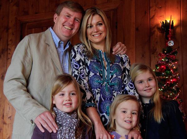 Los Príncipes de Orange pasan las Navidades en familia en Argentina