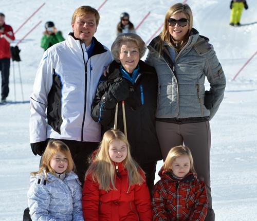 El posado invernal más esperado de la Familia Real holandesa cuando se cumple el primer aniversario del accidente del príncipe Friso
