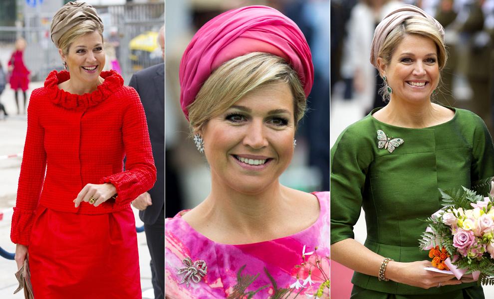 Los turbantes y sombreros, complementos fetiche de la Reina Máxima