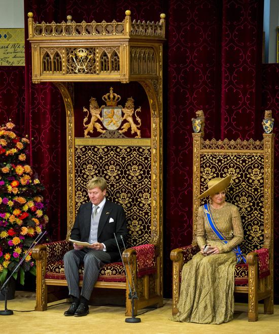 Guillermo Alejandro y Máxima de Holanda presiden su primer 'Día del Príncipe' como soberanos
