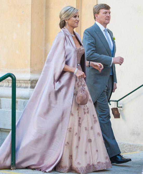 Máxima de Holanda, elegancia 'real' en la boda de su hermano Juan