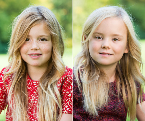 Los entrañables posados de Amalia, Alexia y Ariana de Holanda por el cumpleaños de la Princesa Heredera