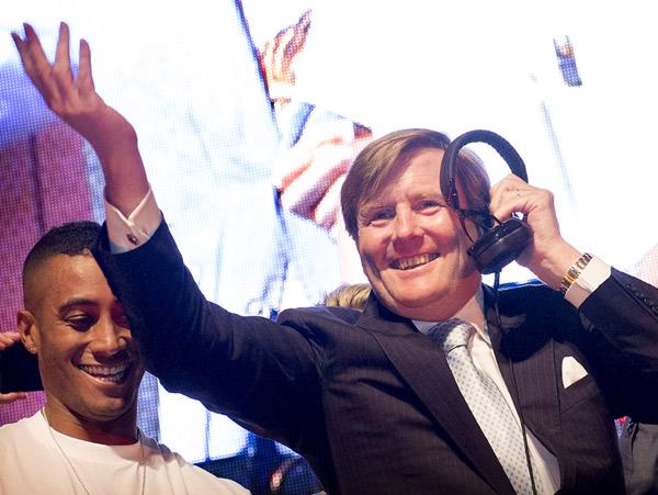El 'DJ Guillermo de Holanda' pone a bailar a Chicago