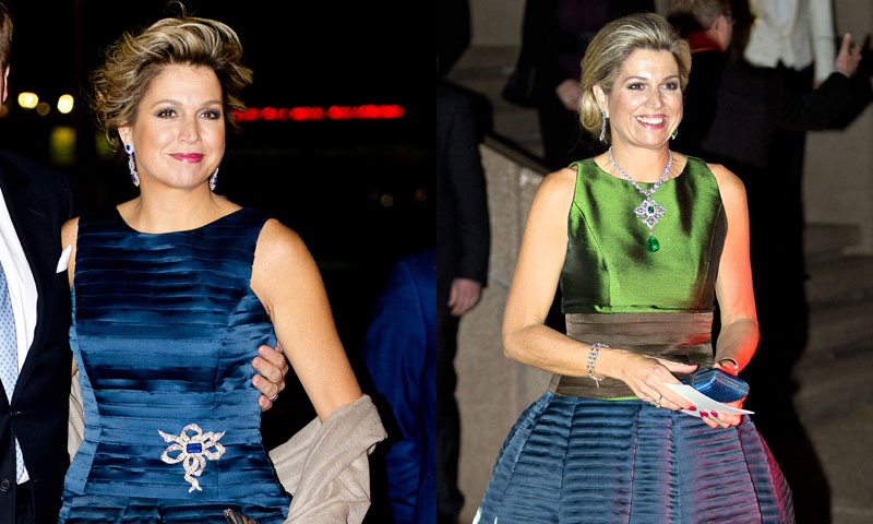 La reina Máxima customiza su fondo de armario para reinventar estilismos pasados