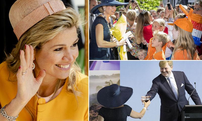 'Este es el momento en el que aparece la bella ayudante'... y apareció Máxima de Holanda