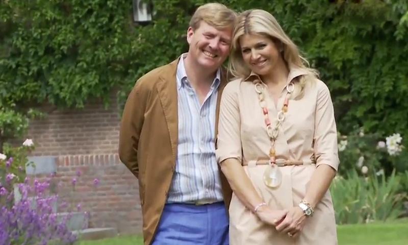 Guillermo y Máxima de Holanda celebran su 15 aniversario de boda tan enamorados como el prímer día