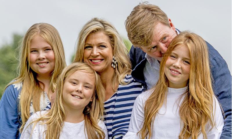El rey Guillermo de Holanda y sus hijas ya se encuentran en Argentina para acudir al entierro de Jorge Zorreguieta