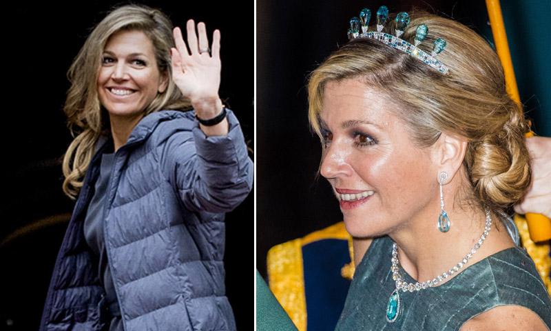 La Reina de Holanda, máxima antes y después