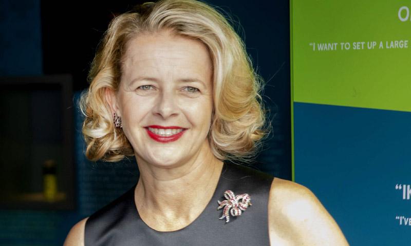 Multimillonaria y doblemente reconocida, a Mabel de Holanda no le faltan motivos para sonreír