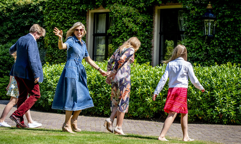 Año nuevo, casa nueva: Guillermo y Máxima de Holanda comienzan su mudanza al palacio de Huis ten Bosch