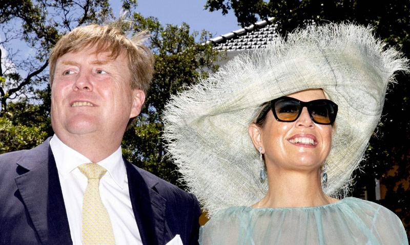Guillermo y Máxima de Holanda ya residen en el palacio de Huis ten Bosch
