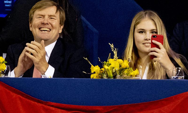 Amalia de Holanda, la mejor sustituta de la reina Máxima: toda emoción en un concurso hípico