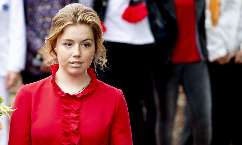 Alexia de Holanda, molesta después de que la hayan suplantado en las redes sociales